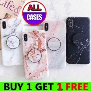 iPhone 11/Pro/Max/XR/XS/X/7/8/Plus Case W/Holder